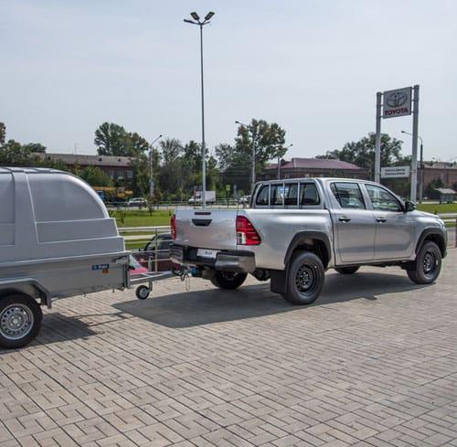 Speedy Towbars Heavy Duty Towbar on Subaru Forester